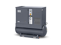 G15-150 AP, 208-230/460 Volt (V) Voltage, and 71 Gallon (gal) Tank Mounted Rotary Screw Air Compressor with Aftercooler