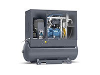 G15-150 AP, 208-230/460 Volt (V) Voltage, and 71 Gallon (gal) Tank Mounted Rotary Screw Air Compressor with Aftercooler - 4