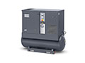 G7-125 AP, 208-230/460 Volt (V) Voltage, and 120 Gallon (gal) Tank Mounted Rotary Screw Air Compressor